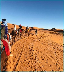 4 day tour from Chefchaouen to Sahara and Marrakech